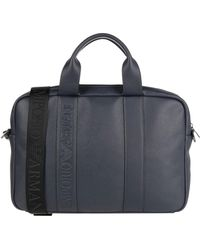 Emporio Armani Work Bags - Blue