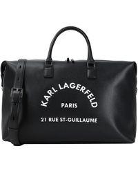 Karl Lagerfeld Duffel Bags - Black