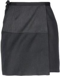 Majestic Filatures Mini Skirt - Grey