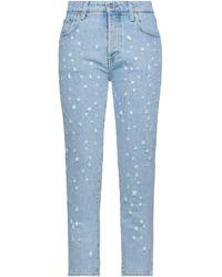 Department 5 Denim Pants - Blue