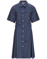 CALIBAN 820 Knee-length Dress - Blue