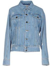 Filles A Papa Denim Outerwear - Blue