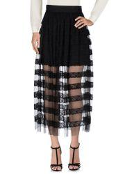 Vilshenko Long Skirt - Black