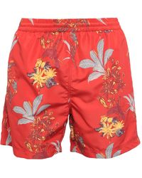 Carhartt Swim Trunks - Red