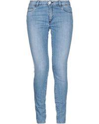 Trussardi Pantalon en jean - Bleu