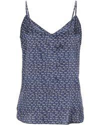 Stella McCartney Nachthemd - Blau