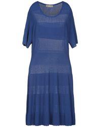 Cruciani Vestido midi - Azul