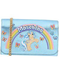 Moschino Portefeuille - Bleu