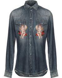Dolce & Gabbana Camisa vaquera - Azul