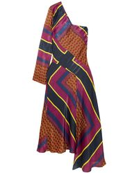 House of Holland Midi Dress - Multicolour