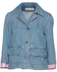 Marni Denim Outerwear - Blue