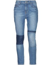 10 Crosby Derek Lam Denim Trousers - Blue