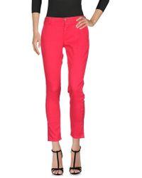 TRUE NYC Denim Trousers - Red