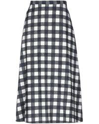 Compañía Fantástica 3/4 Length Skirt - Grey