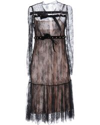 Philosophy Di Lorenzo Serafini Knee-length Dress - Black