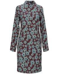 Manila Grace Short Dress - Green