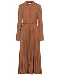 Max Mara 3/4 Length Dress - Brown