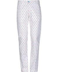 Panama Casual Trouser - White