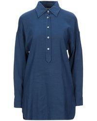 Kiton Short Dress - Blue