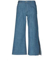 Nine:inthe:morning Denim Trousers - Blue