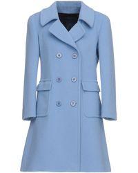 Blue Les Copains Coat - Blue