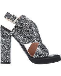 Carven Sandals - Metallic