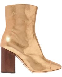 Brother Vellies Ankle Boots - Metallic