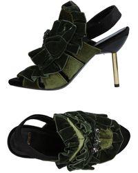 Tipe E Tacchi Sandals - Green