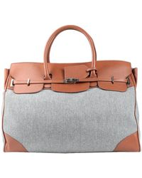 Eleventy Work Bags - Gray