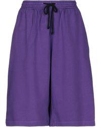MM6 by Maison Martin Margiela Shorts & Bermuda Shorts - Purple
