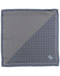 Gucci Square Scarf - Gray
