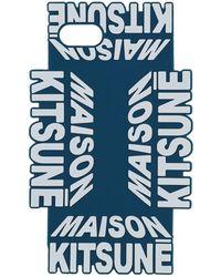 Maison Kitsuné Cover & Hüllen - Blau
