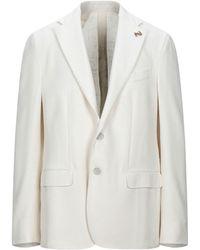 Pal Zileri Suit Jacket - White
