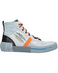 DIESEL Sneakers & Tennis shoes alte - Blu