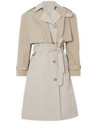 Deveaux Overcoat - Natural