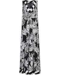 Clips Long Dress - White