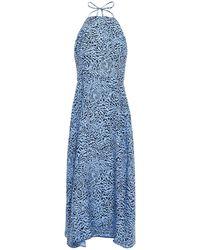 HVN Long Dress - Blue
