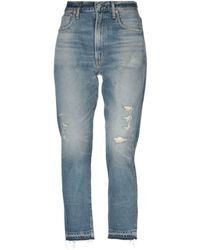 Citizens of Humanity Denim Trousers - Blue