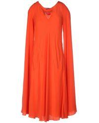Stephan Janson   3/4 Length Dress   Lyst