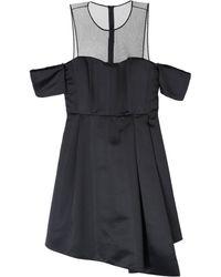 Pinko Vestido por la rodilla - Negro