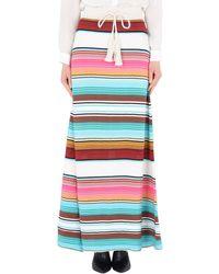 Laneus Long Skirt - Natural