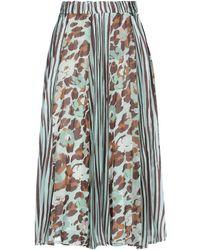 Motel 3/4 Length Skirt - Green