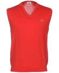 Lacoste Pullover - Rot