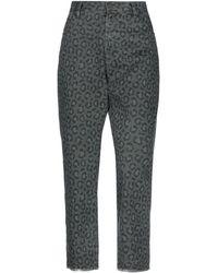 One Teaspoon Pantalon en jean - Vert