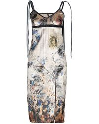 Manila Grace - Knielanges Kleid - Lyst