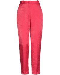 Angela Davis Trouser - Red