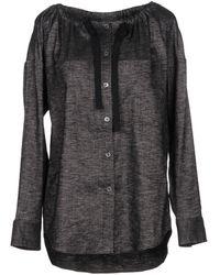 Theory Denim Shirt - Grey