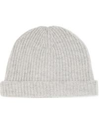 N.Peal Cashmere Sombrero - Gris