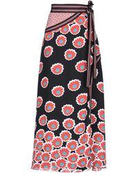Diane von Furstenberg Long Skirt - Black