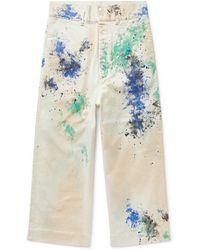 Sasquatchfabrix Casual Pants - White